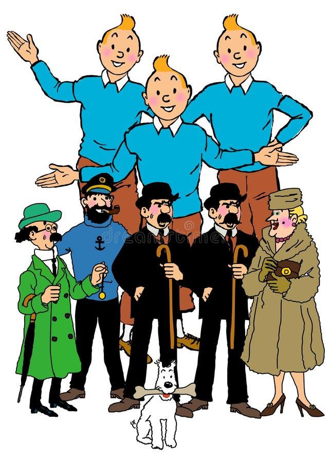 Bande dessinée de Tintin