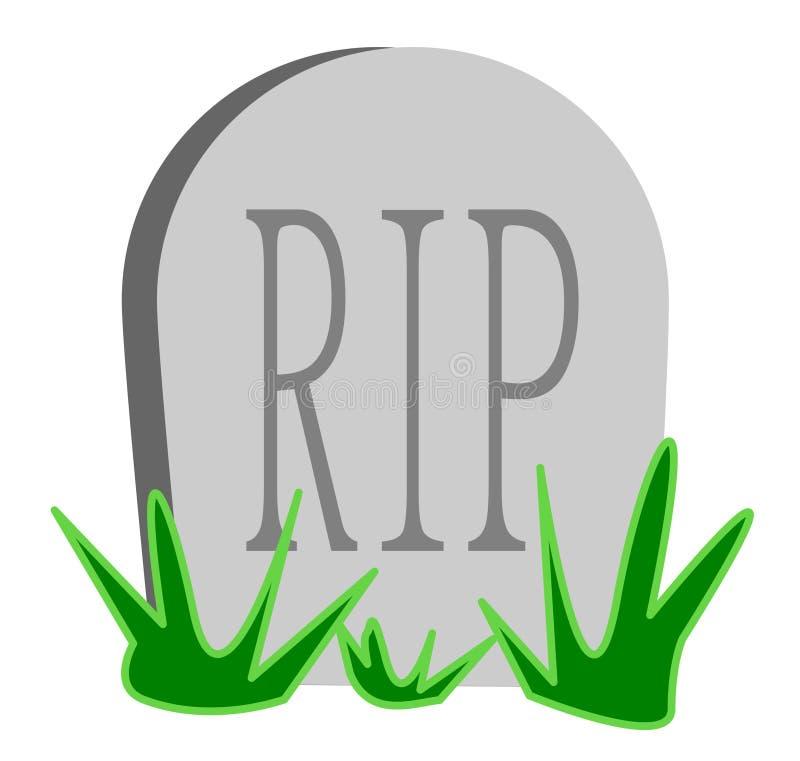 Bande dessinée en pierre grave de DÉCHIRURE - illustration de vecteur illustration de vecteur
