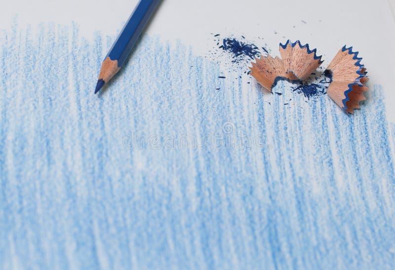 Bande dipinte con un correggere su uno strato bianco fotografia stock libera da diritti