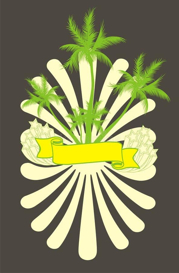 bande jaune illustration libre de droits