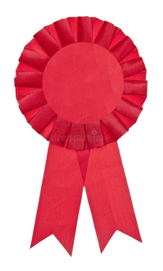 Bande juste rouge de gagnant