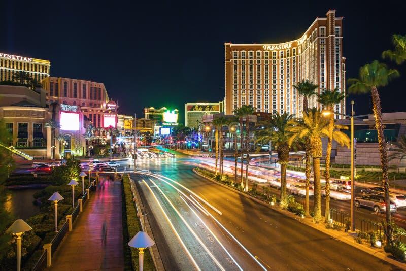 Bande Las Vegas de sud photographie stock