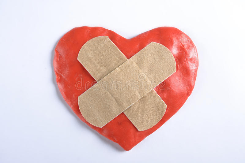 Bande médicale de coeur 6èmes images stock