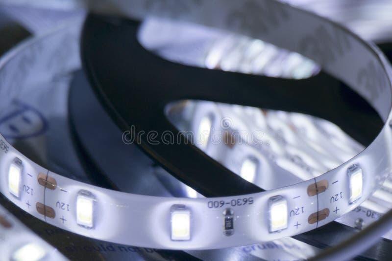 Bande menée de lampe image stock