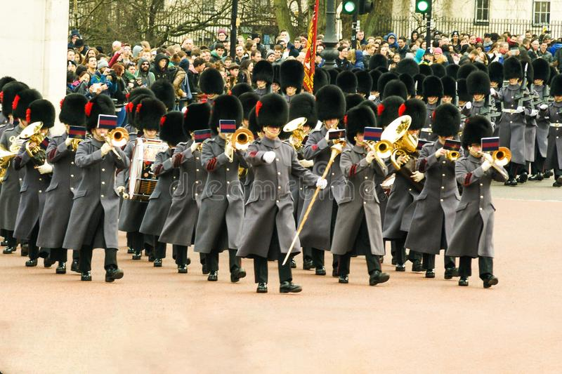 Bande militaire images stock