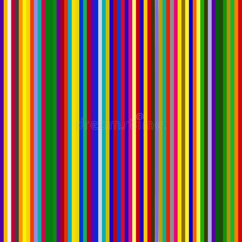 Bande multicolori illustrazione vettoriale