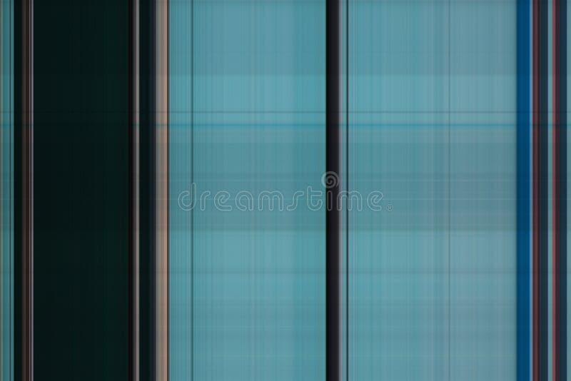 Bande multicolori di struttura dell'estratto Bande blu e marroni verticali fotografia stock
