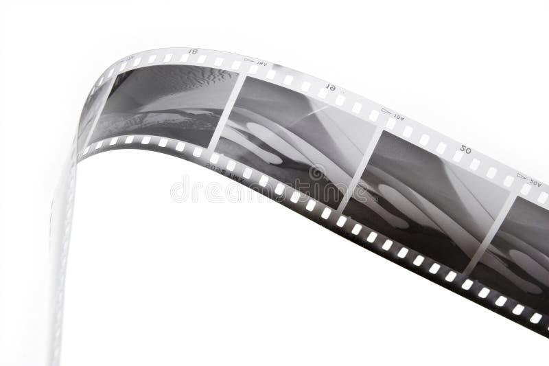 Bande noire et blanche de film photographie stock libre de droits