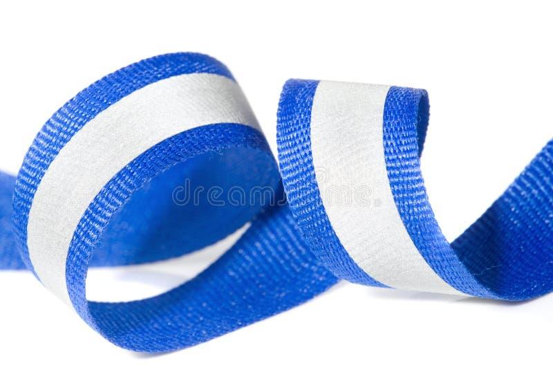 Bande r3fléchissante - haut textile de visibilité image stock