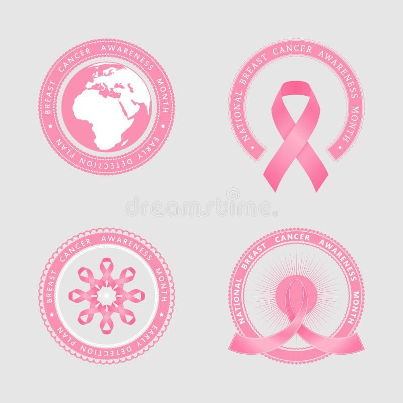 Bande rose illustration de vecteur