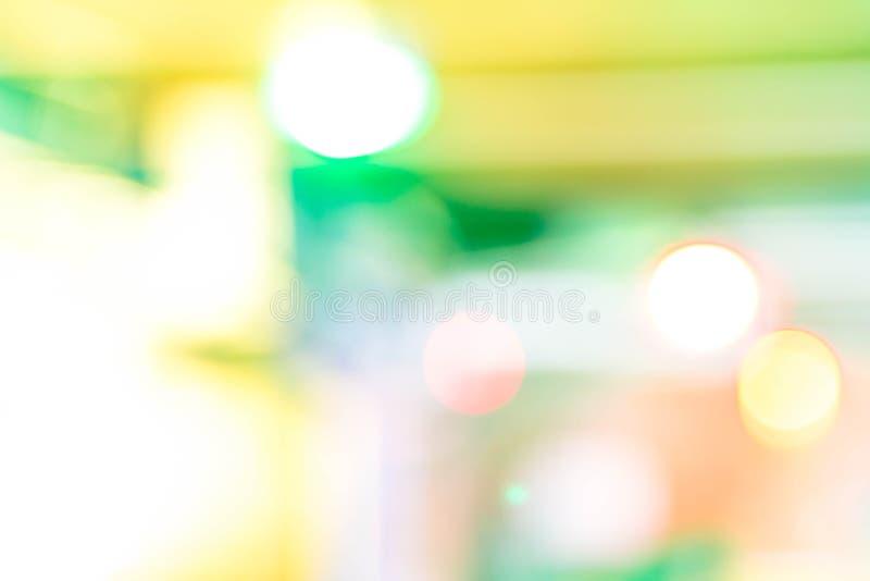 Bande rotonde differenti colorate di punti culminanti su fondo nero fotografia stock libera da diritti