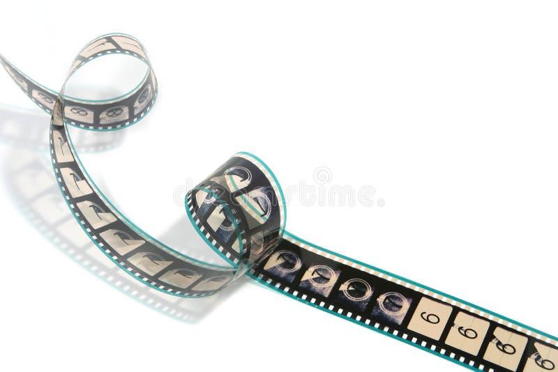 Bande tordue de film de film images libres de droits