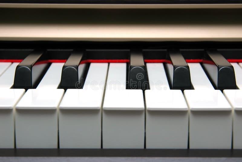 Bandeau de clavier de piano photos stock