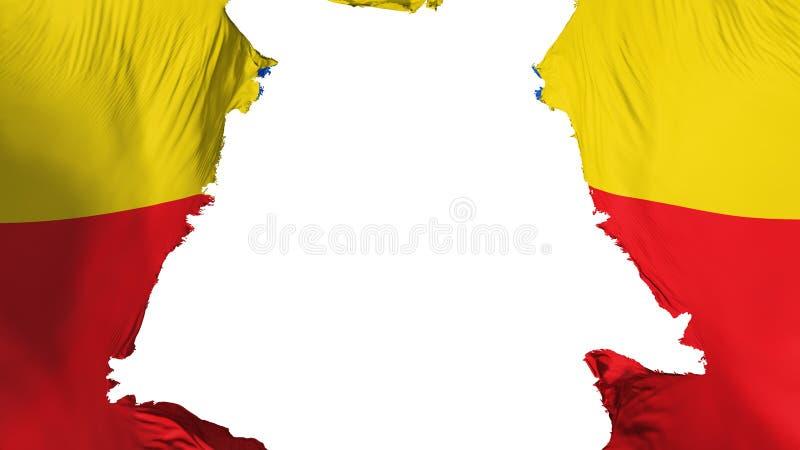 Bandeira áspera de Bogotá ilustração royalty free