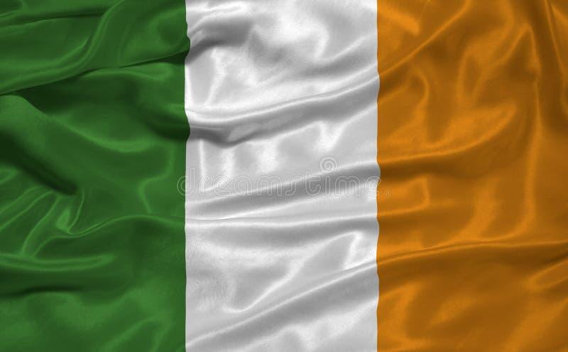 Bandeira 3 de Ireland fotos de stock royalty free