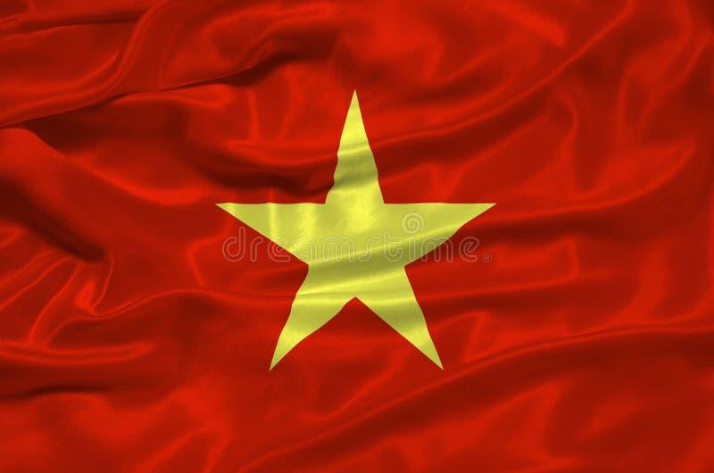 Bandeira 3 de Vietnam ilustração stock