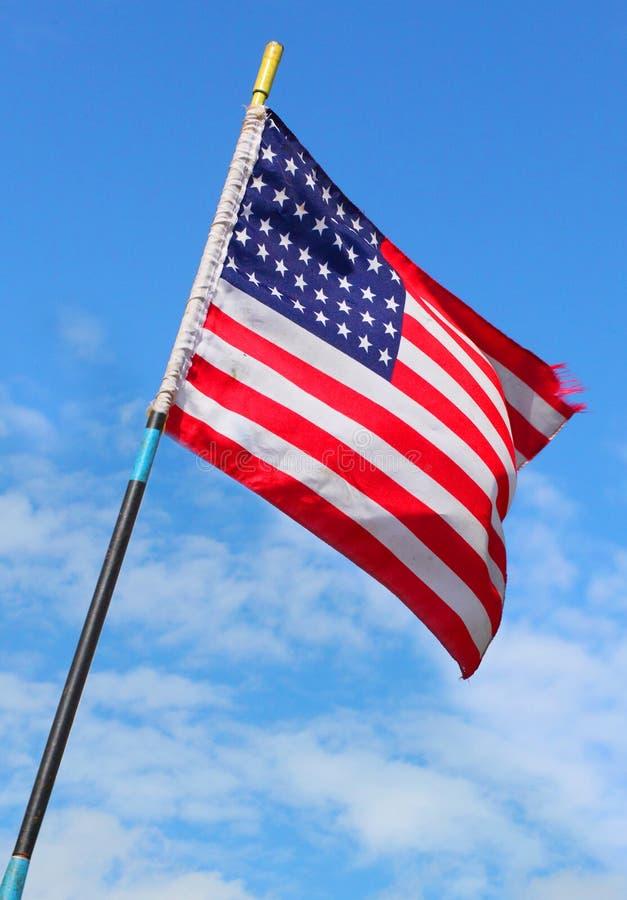 Bandeira americana. fotografia de stock royalty free