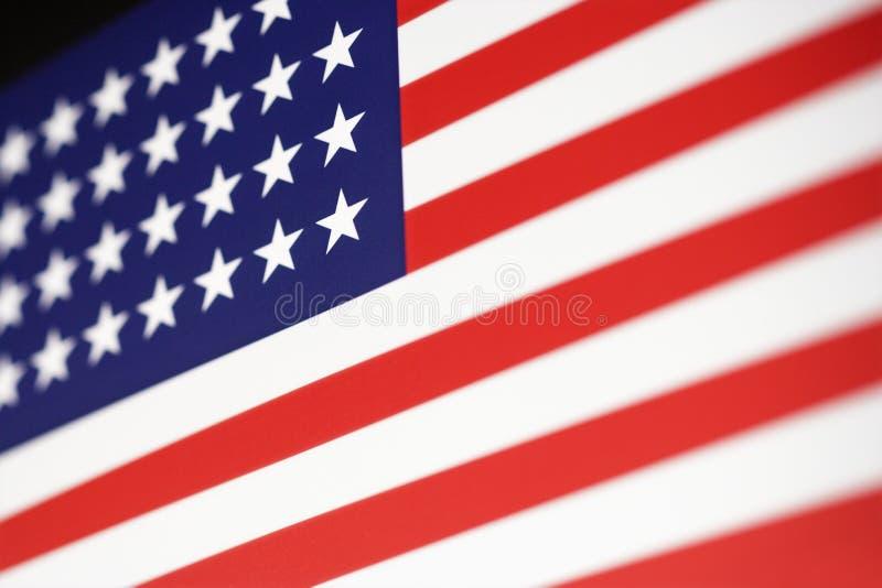 Bandeira americana. foto de stock