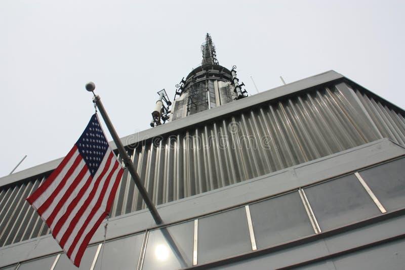 Bandeira americana foto de stock