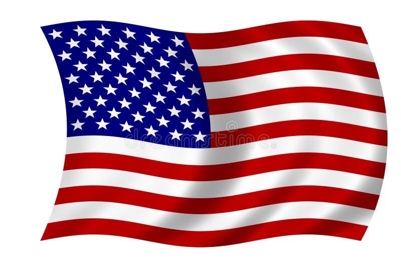 Download Bandeira americana ilustração stock. Ilustração de símbolo - 60203