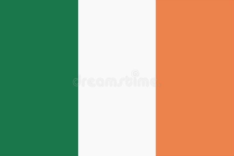 Bandeira arquivo da ilustração do fundo da República da Irlanda do grande ilustração royalty free