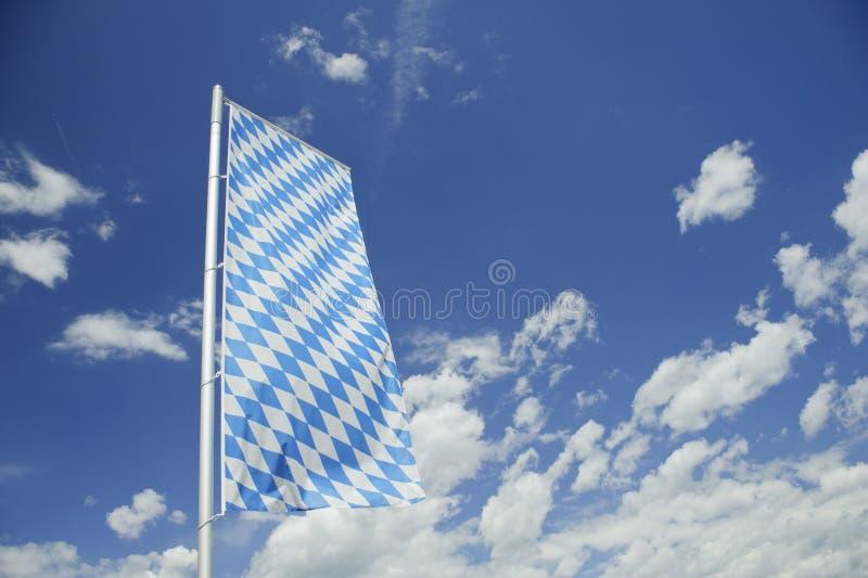 Bandeira bávara. imagens de stock