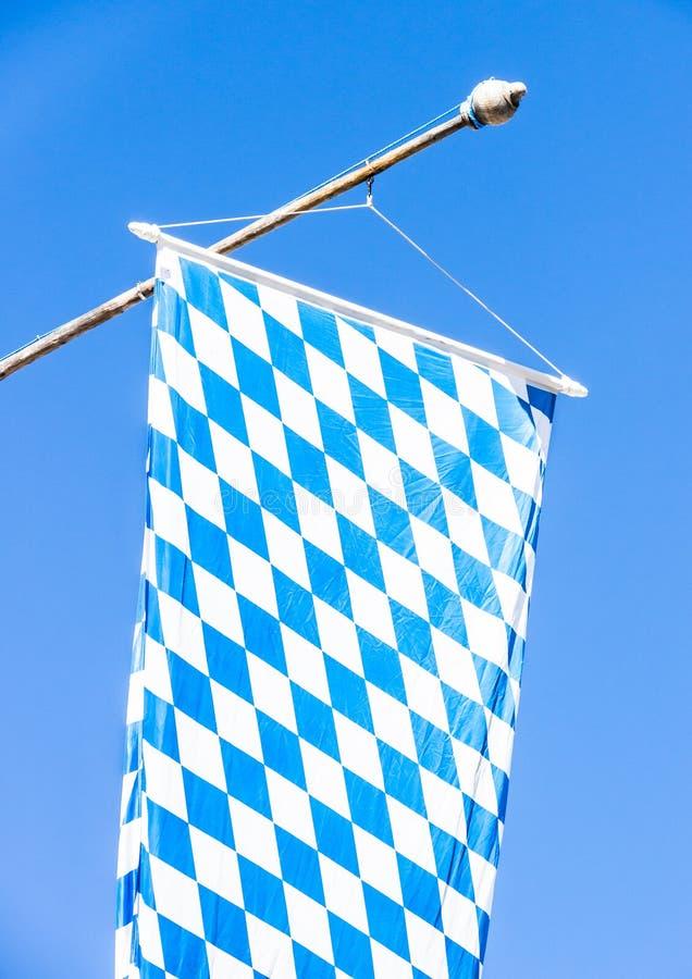Download Bandeira bávara imagem de stock. Imagem de céu, branco - 29843757