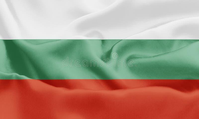 Bandeira búlgara - Bulgária ilustração royalty free