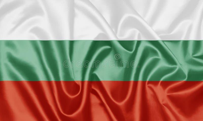 Bandeira búlgara - Bulgária ilustração do vetor