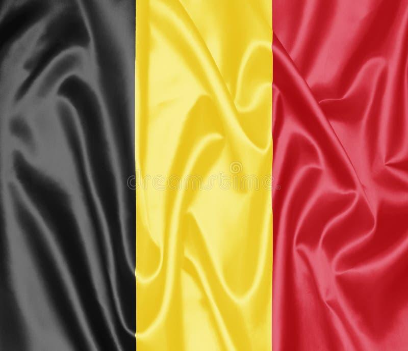 Bandeira belga - Bélgica ilustração stock