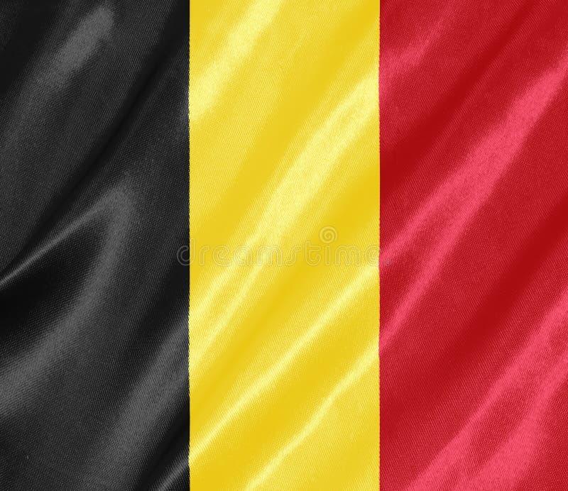 Bandeira belga - Bélgica ilustração do vetor