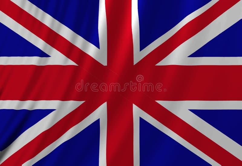 Bandeira BRITÂNICA ilustração royalty free