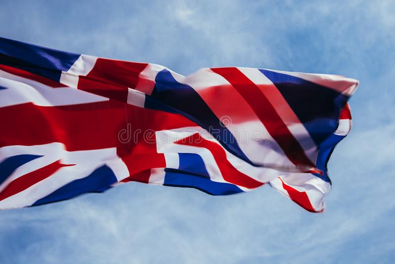 Bandeira brit?nica imagens de stock