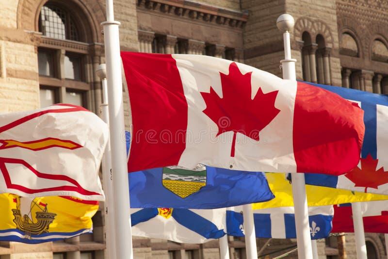 Bandeira canadense, Canadá fotos de stock royalty free