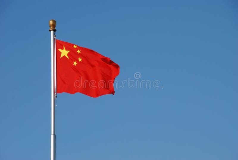 Bandeira chinesa foto de stock royalty free