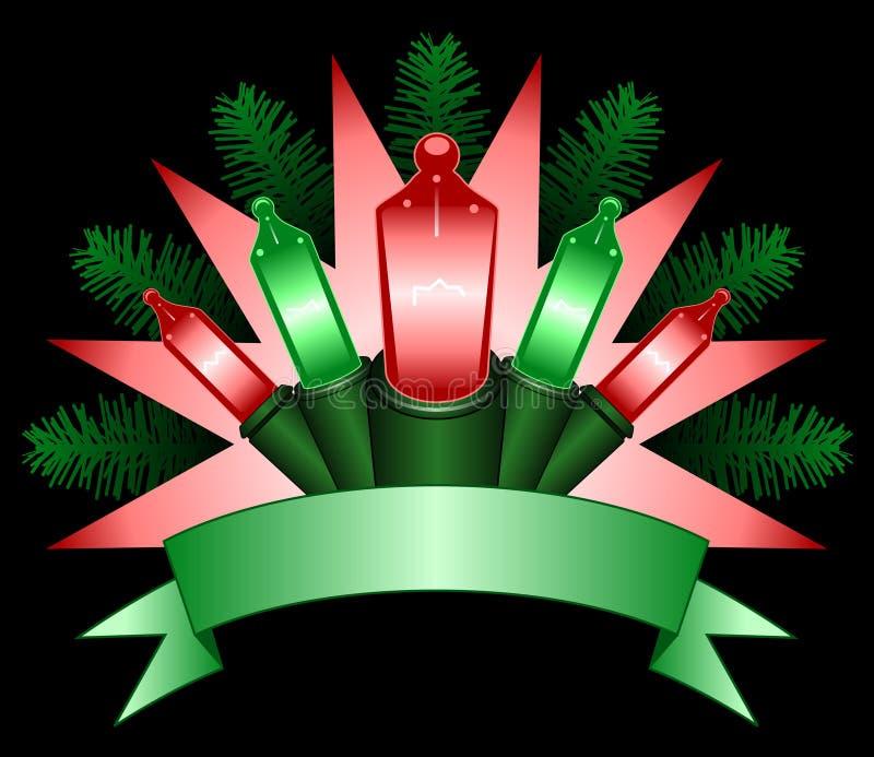 Bandeira clara do feriado ilustração royalty free