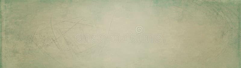Bandeira com fundo do vintage - molde do encabeçamento da Web - projeto do Web site - projeto simples imagem de stock royalty free