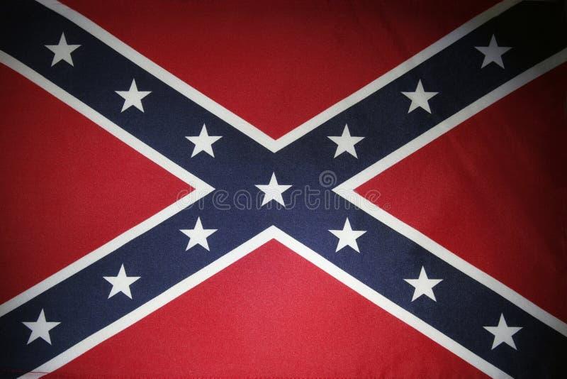 Bandeira confederada imagens de stock