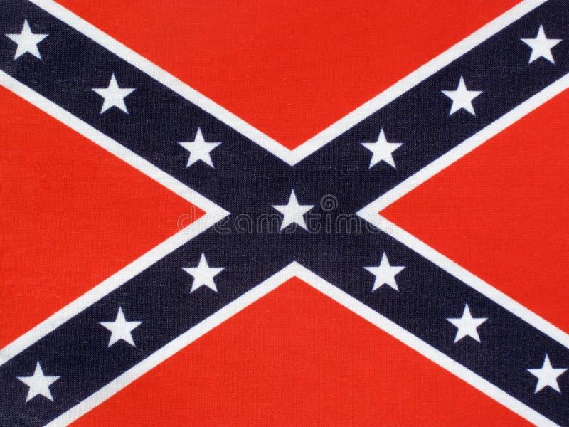 Bandeira confederada fotografia de stock