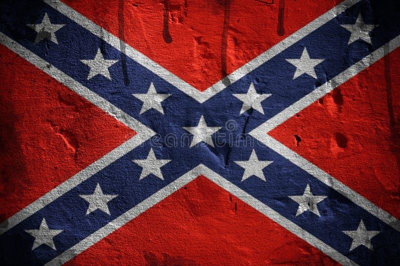 Bandeira confederada imagens de stock royalty free