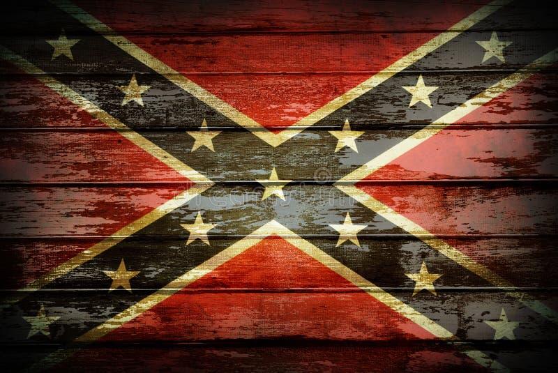 Bandeira confederada ilustração royalty free