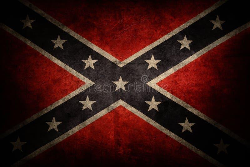 Bandeira confederada foto de stock