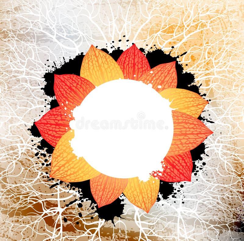 Bandeira creativa ilustração do vetor