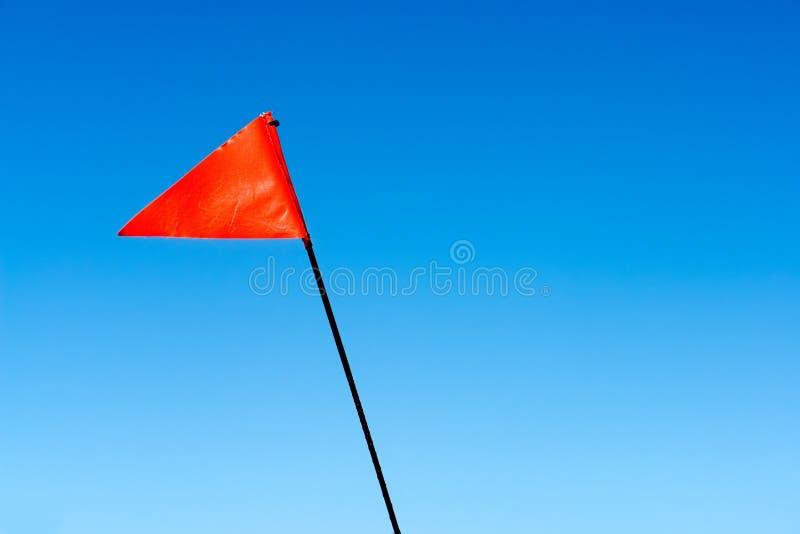 Bandeira da duna de areia fotos de stock