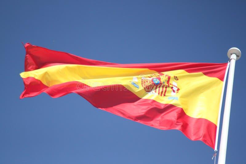 Bandeira da Espanha foto de stock