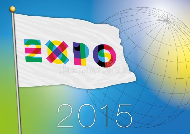 Bandeira da expo 2015