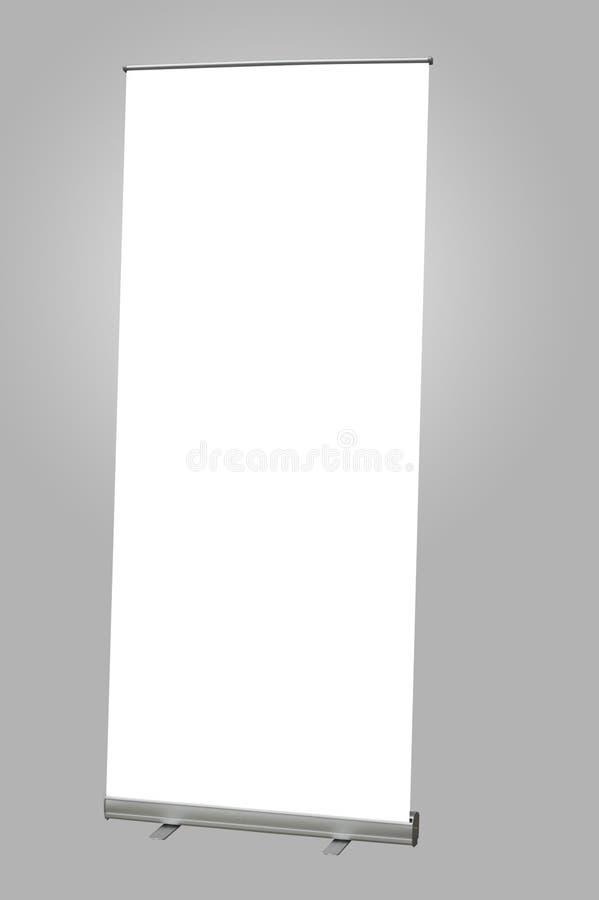 Bandeira da exposição foto de stock
