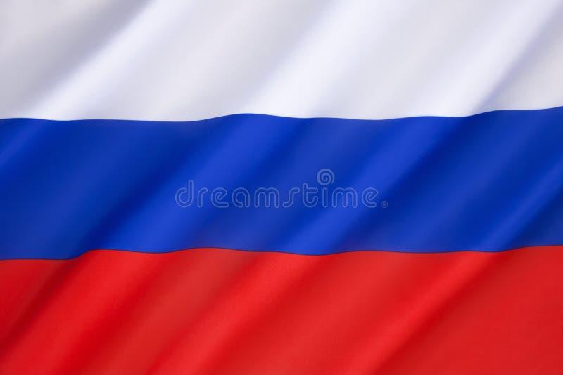 Bandeira da Federação Russa fotos de stock royalty free