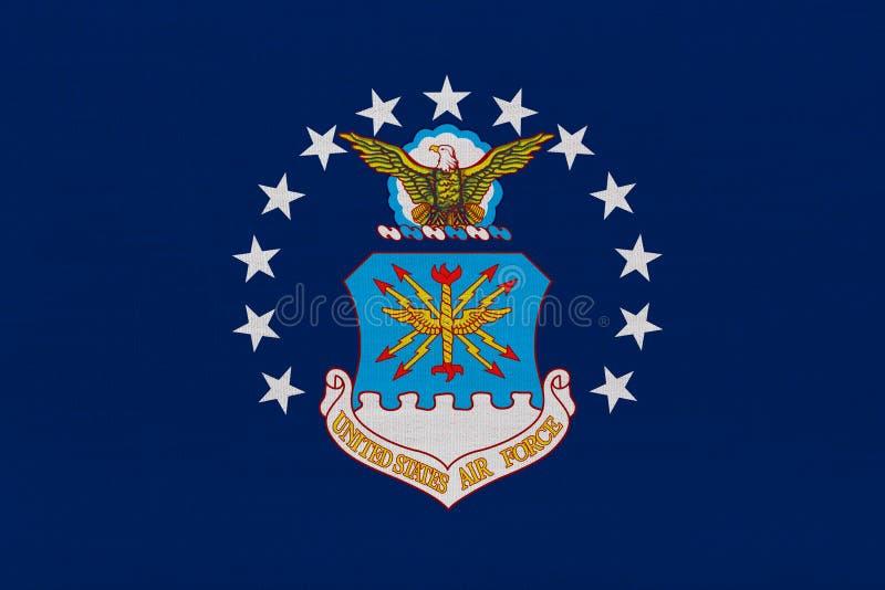 Bandeira da força aérea de Estados Unidos ilustração do vetor