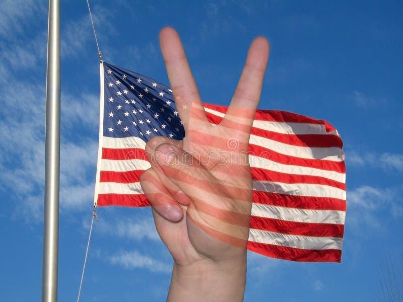 Bandeira da paz ilustração royalty free